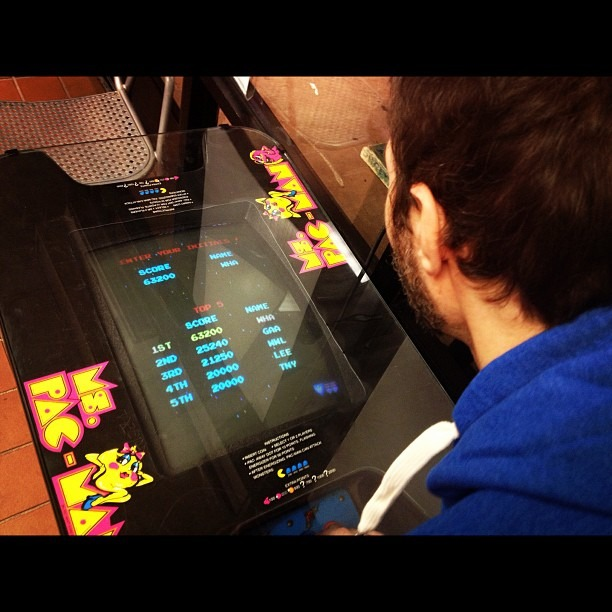 After a night of Halo, Robin is now ruling at old Sokol Galaga!