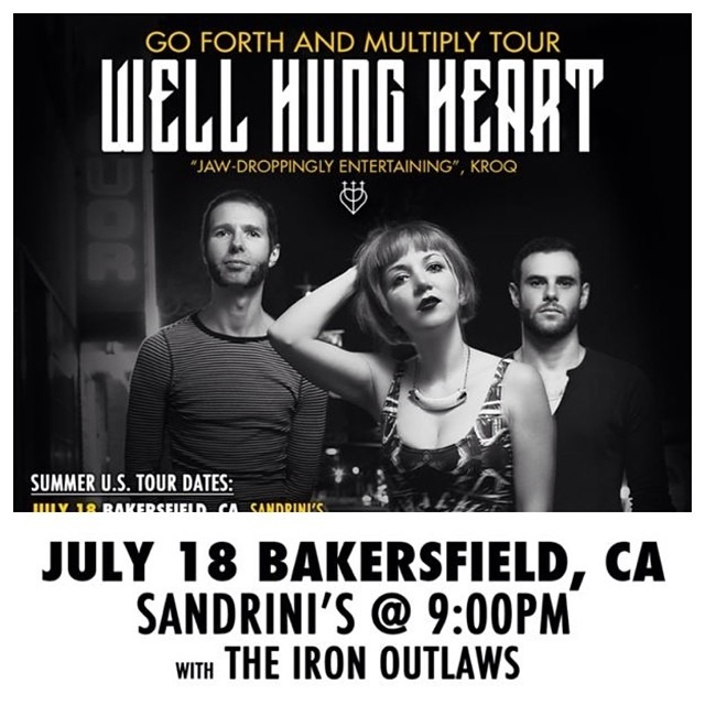 //SHOW TONIGHT\ #Bakersfield @Sandrini's - 10:00pm!! W/ @TheIronOutlaws @wellhungheart #livemusic #sandrinis