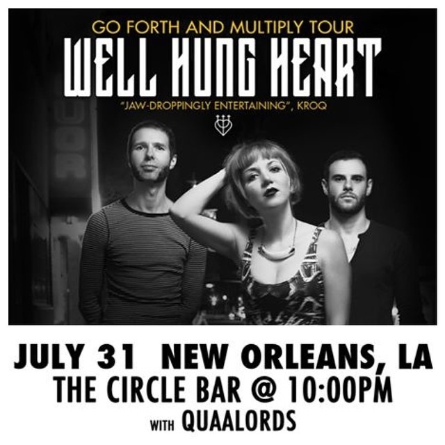 THURSDAY /// NEW ORLEANS /// @TheCircleBar with @TheQuaalords ! /// 10pm - $5 /// DO IT!