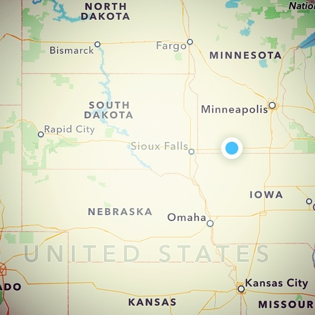Making good time so far on one of our shortest tour drives…only 10 hours total. (5357 miles so far this tour) #dontcomplainAboutUKTouring #sturgisbound #roadtrippin #roadtrip #tourlyfe #fingerscrossed #noflattiresOrBreakdowns #southdakota #rez #mericafuckyeah