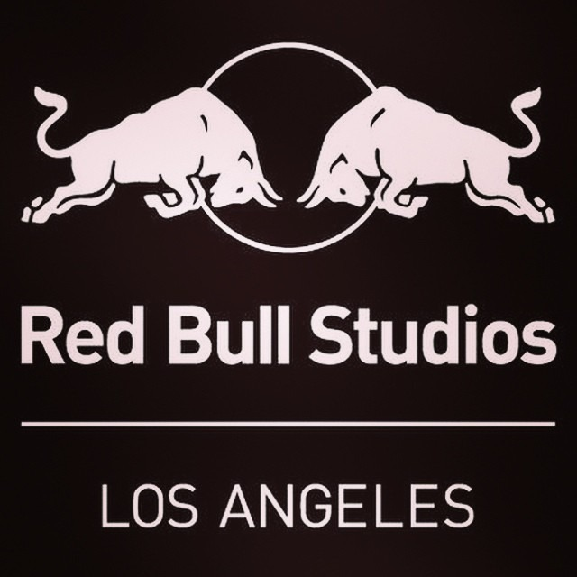 This is where we will be for the rest of the week! See ya mañana  @redbullstudiosla - thanks to the @ocmusicawards ! Follow our adventures here on #Instagram @wellhungheart !! #recordingstudio #songwriting #rocknroll #thisismydream