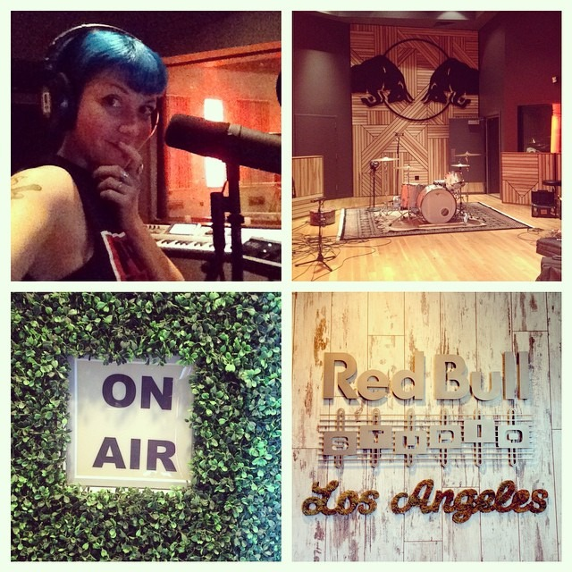 Well Hung Heart - Day 1 @redbullstudiola was great. Two new song ideas down! Can't wait for tomorrow! @ocmusicawards