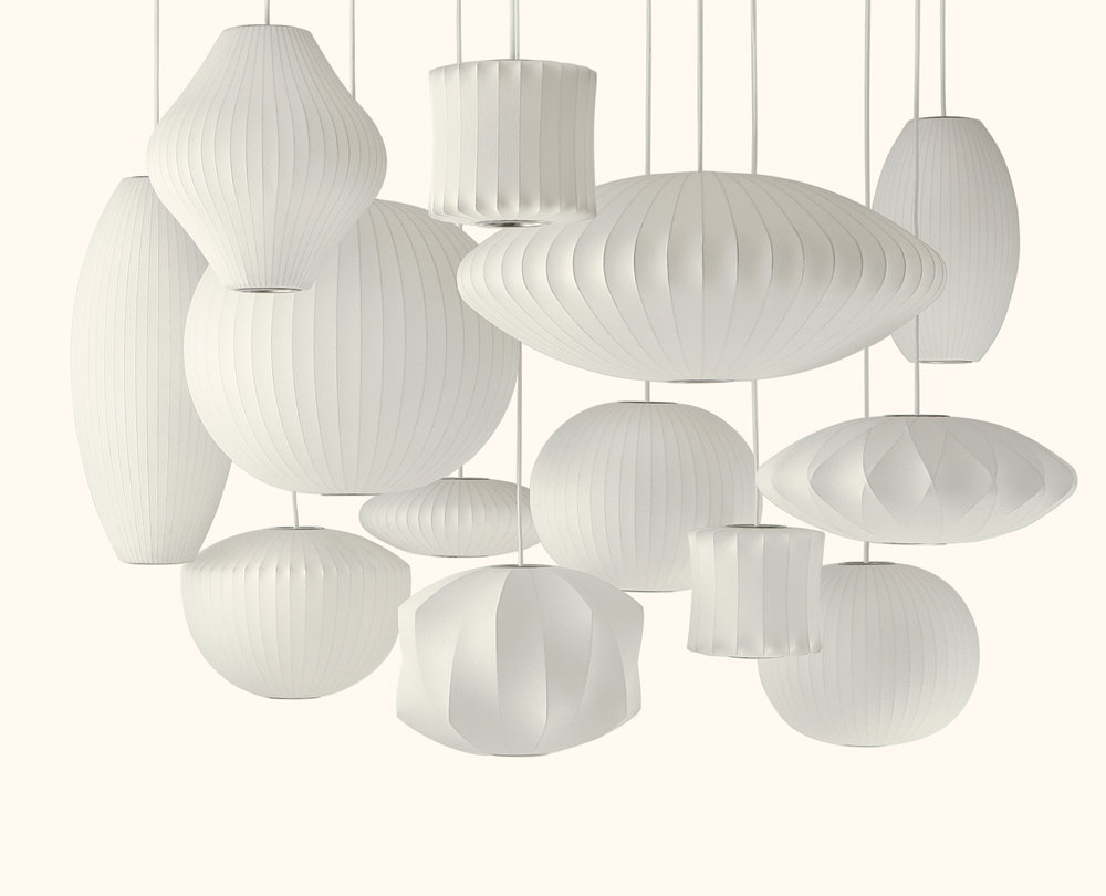 Name : Nelson™ bubble lamps / Designer : George Nelson