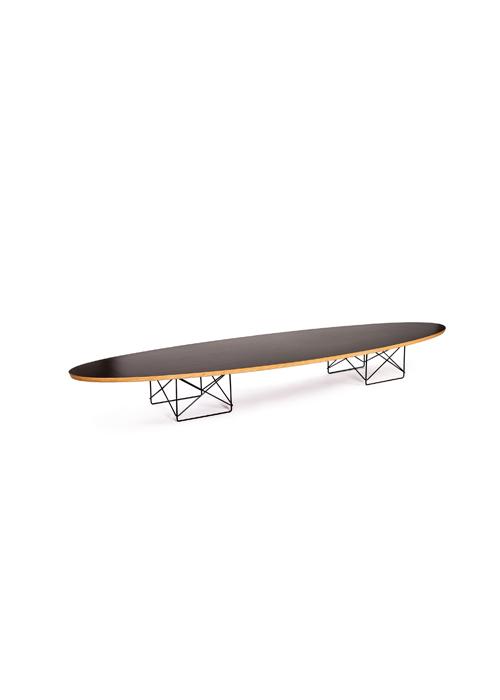 Etonnant EAMES WIRE BASE ELLIPTICAL TABLE U2014 A/HUS