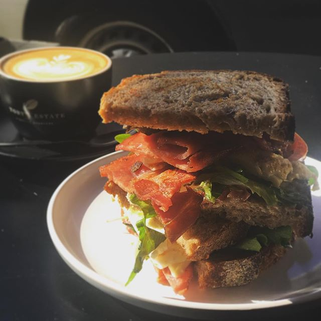 When classic old day back in menu that's good call for BLT ... 😜#pottspointeats #marcellexo #marcelleonmacleay #tastysandwich #brunchtime