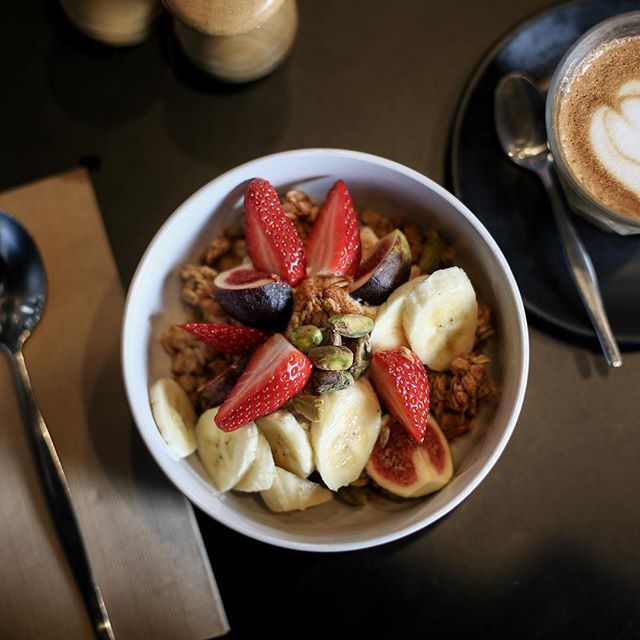 Breakfast point for Sunday #brunchinsydney #marcellexo #pottspointfood #breakfast #goodcafeguide #goodcoffee