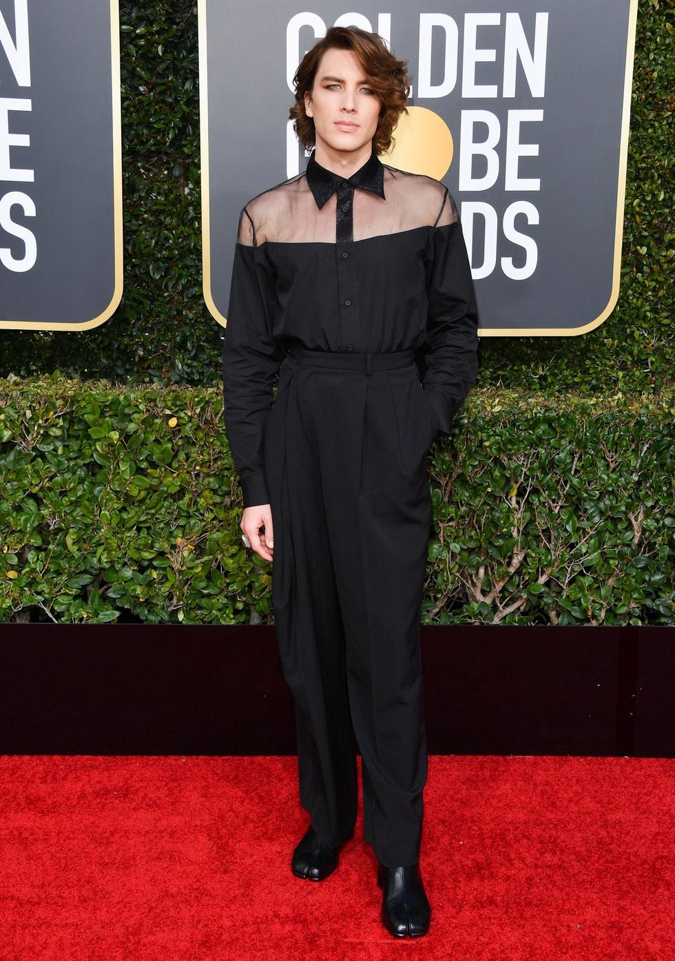Cody Fern attends the 76th Golden Globe Awards