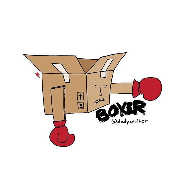 Life is like a box, constantly punching you. #boxer #boxing #box #rio2016 #olympics2016 #olympics
