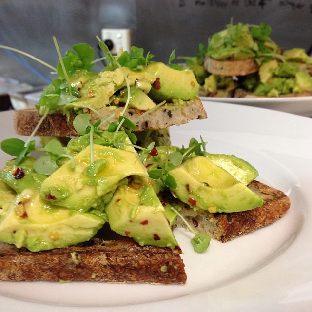 A must on the bucket list.. Our ever popular, near famous Avocado on Toast @postono19 #avocadoontoast #breakfast #
