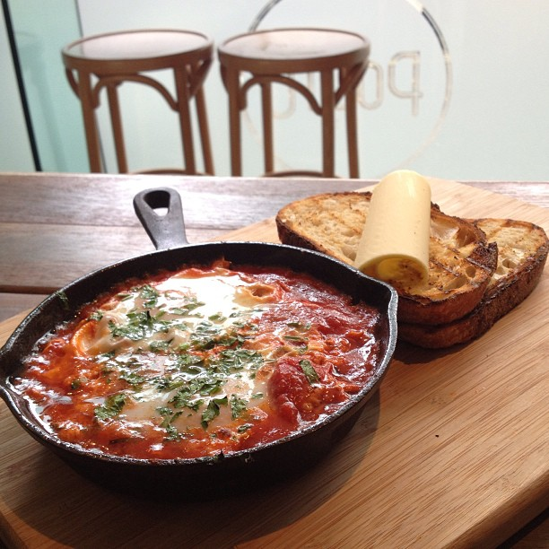 Today it's all about our Baked Eggs! All day everyday breakfast. #bakedeggs