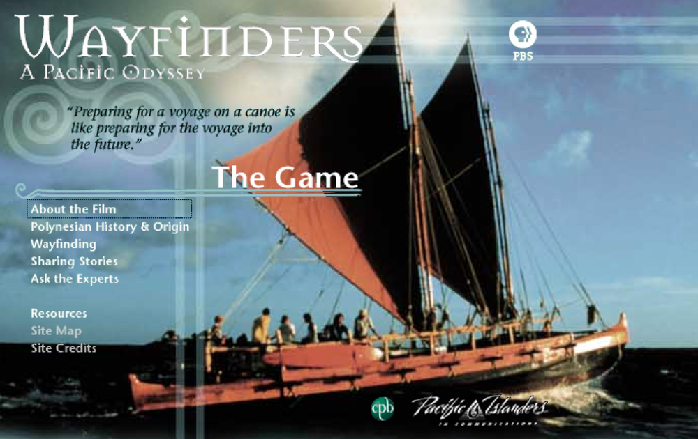 Visit the Wayfinders Website at PBS Online.