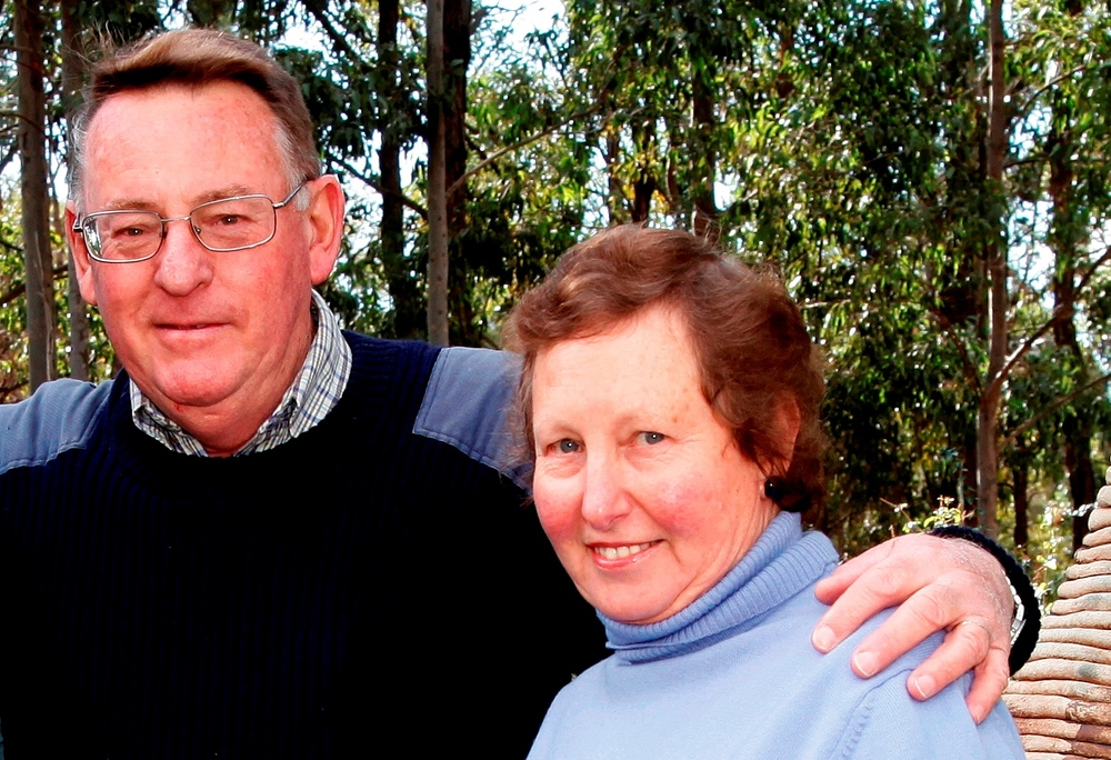 Ken & Gwen Sloane - if you visit their Cellar Door be sure to say Hello.
