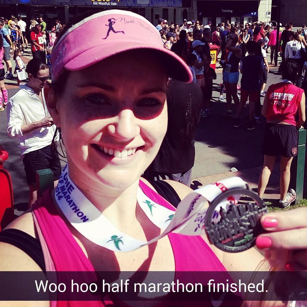 Emma Duncan, Newcastle, Nightstriders - Runner