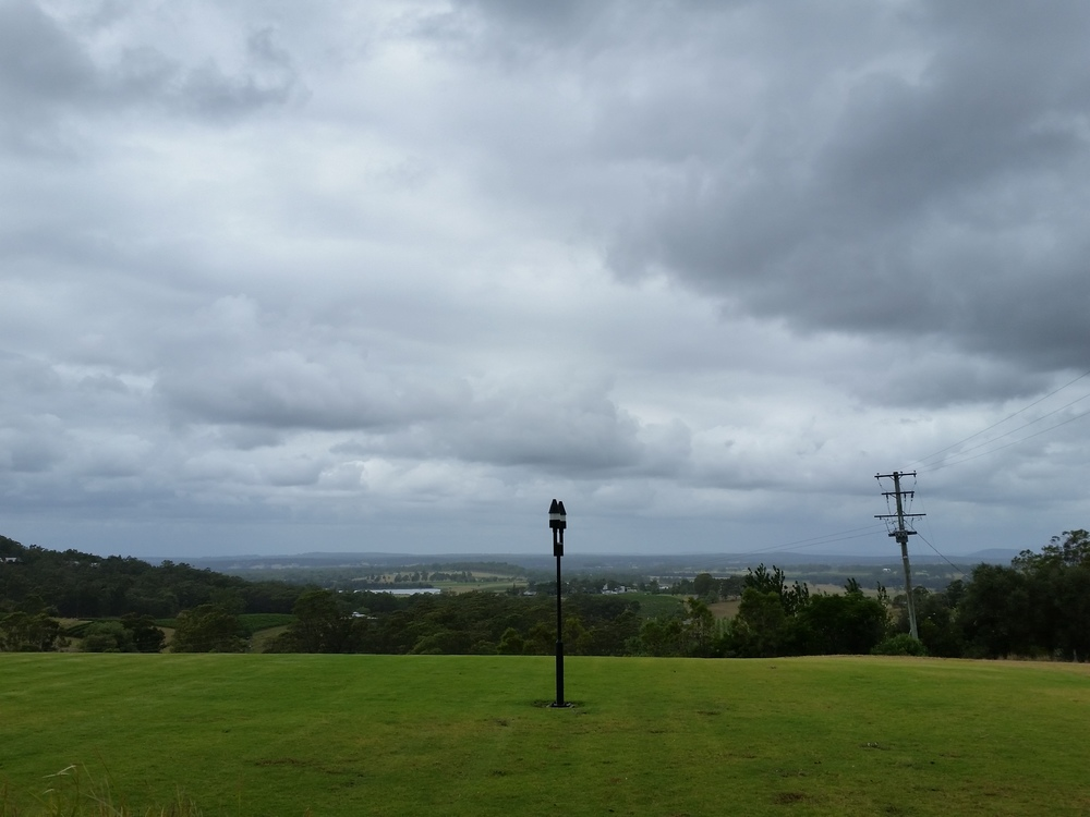 360 degree views at Audrey Wilkinson - this one is across their manicured lawns to the coast. Picnic anyone?