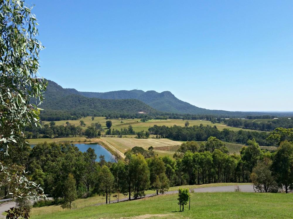 Spa Elysia, Golden Door views across the Valley & Brokenback Ranges