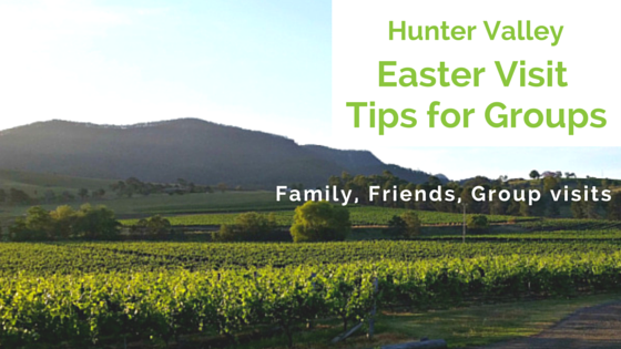 Hunter Valley Group visit tips for wine tasting