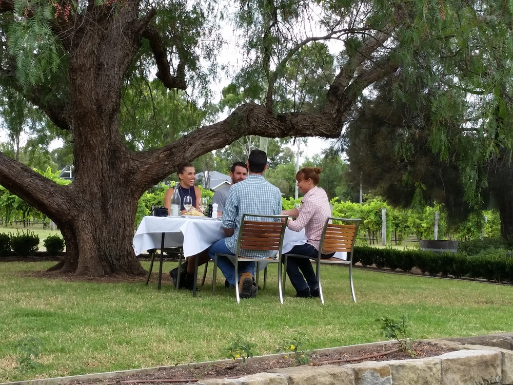 BH Lunch & tasting al fresco