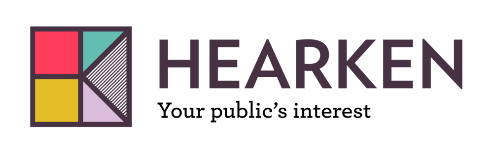 hearken logo long