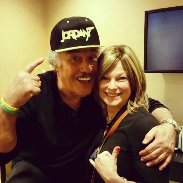 Mama T with Tony Orlando.