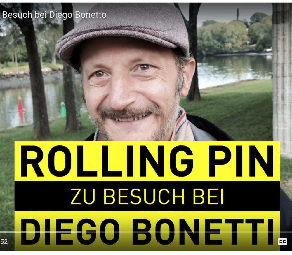 - Diego Bonetto: Sydneys extremster Sammler, Georg Hoffelner, Rolling Pin Magazine, August 2017