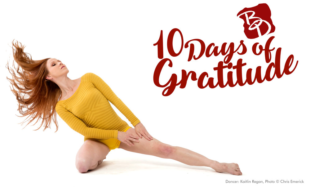 Backhausdance 10 Days of Gratitude