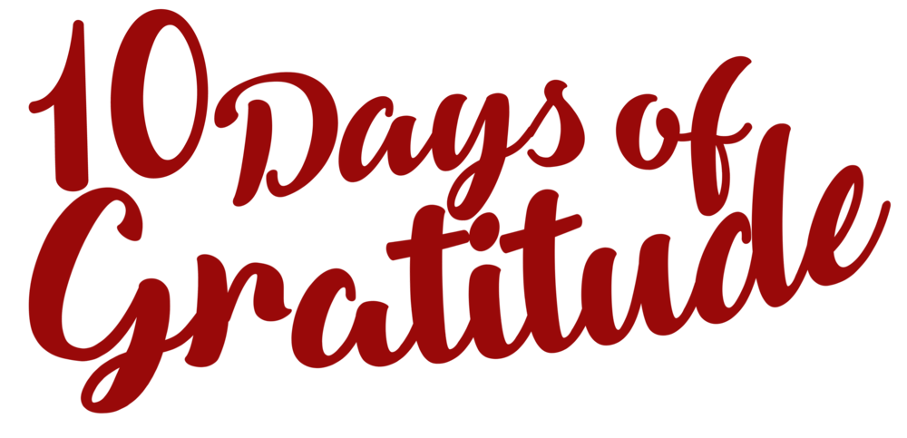10 Days of Gratitude Logo