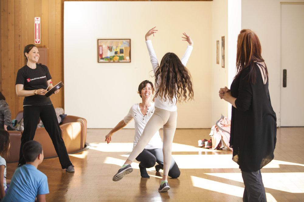Backhausdance Education Residency © Photo by Skye Schmidt