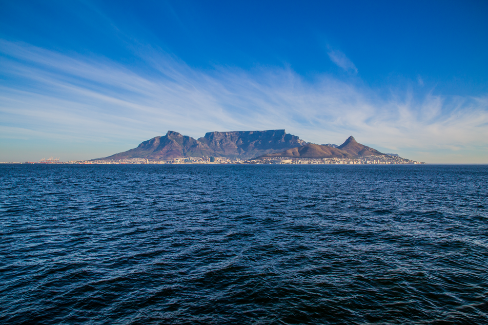 Cape Town from Robben Island.