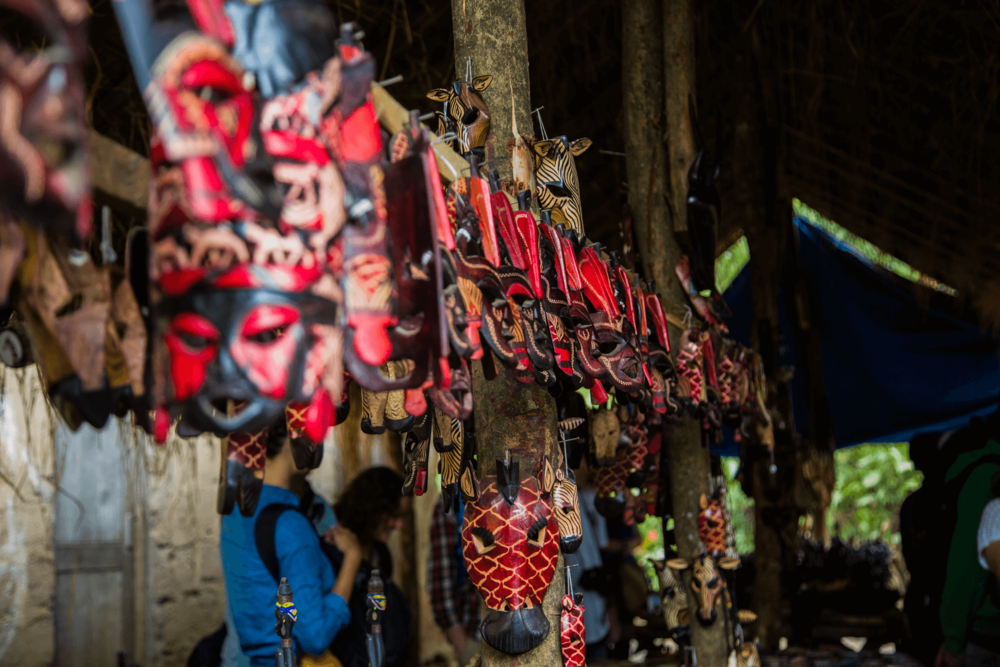 Masks made by the Makonde Tribe