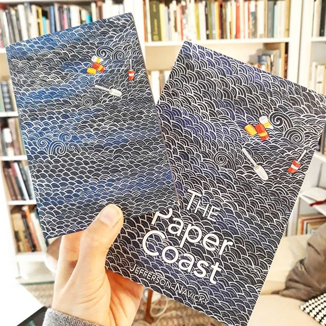 It was a pleasure to paint the cover for Maine writer Jefferson Navicky's recently released fantastic book The Paper Coast. I made the first version of this painting, Endless Sea, during a residency on the remote and arrestingly beautiful Monhegan Island. Friends in Maine- Jefferson will be reading at Quill Books in Westbrook on June 7th at 7pm along with Wendy Cannella and there will be live music too! #monheganisland #ilovemaine