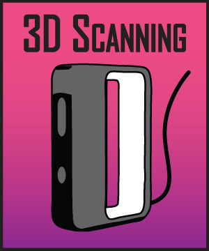 "Design 350: ""3D Scanning: An Overview of Techniques"" [Eventbrite]"