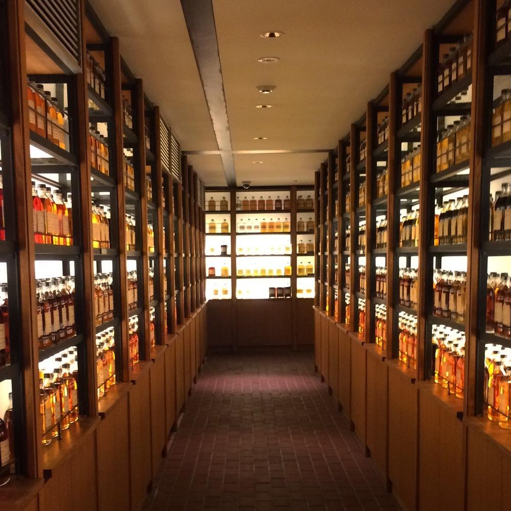 Whisky Library, Yamazaki Distillery