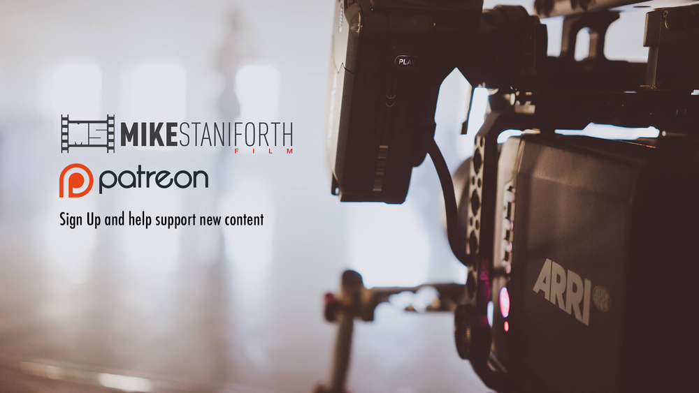 Mike Staniforth Director of Photography Patreon UK