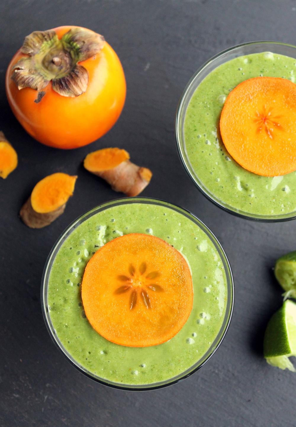 Spinach Persimmon Smoothie