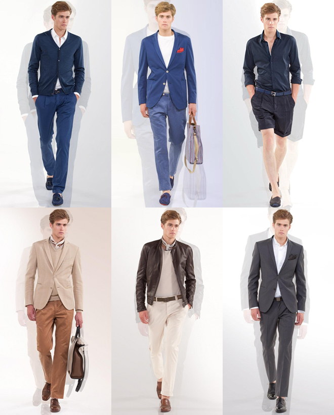 a few examples of wearing tonal outfits.