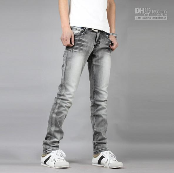 grey jeans for men - Jean Yu Beauty