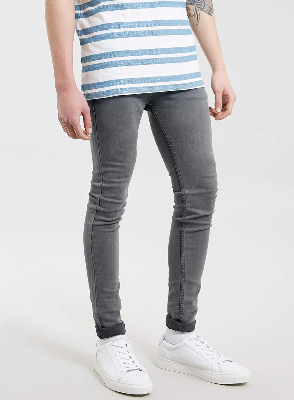 Look - Skinny Mens jeans and shoes pictures video