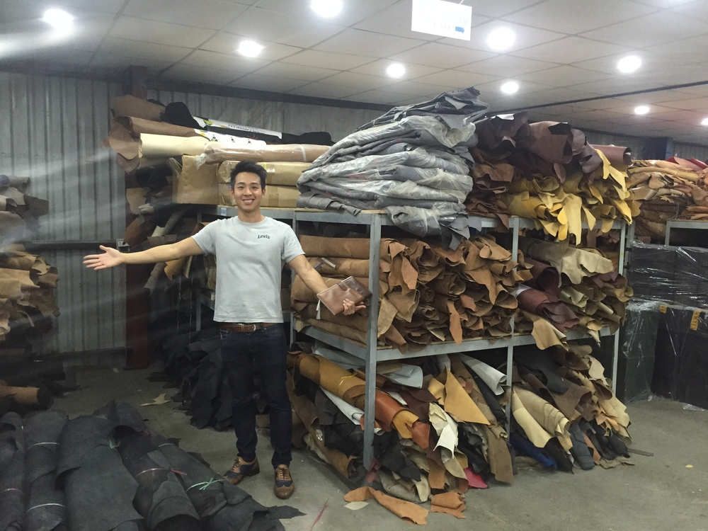 Sourcing for better leather for shoes