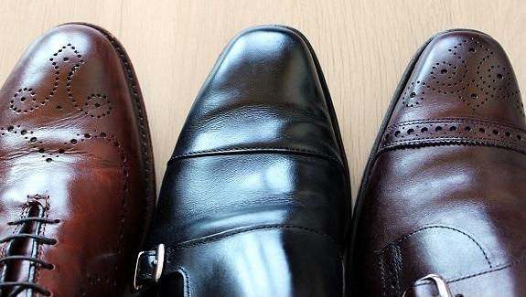 Leather Dress Shoe Creasing