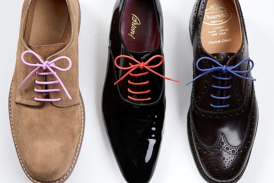 Lacing Straight Lacing Long Shoes