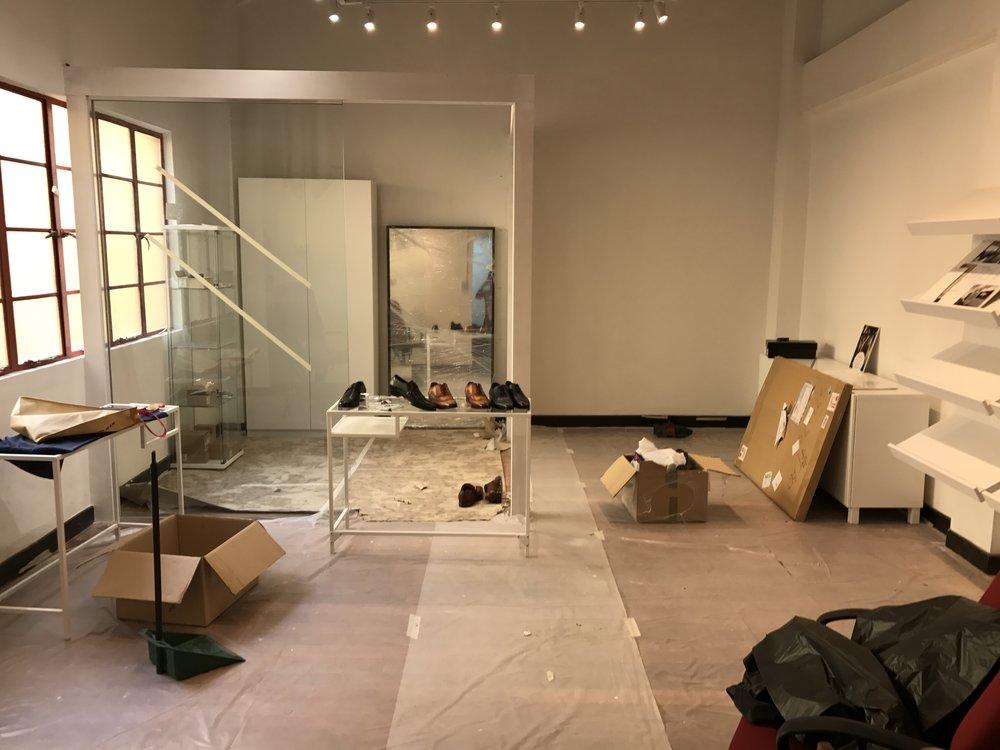CustomMade showroom in constrution! -