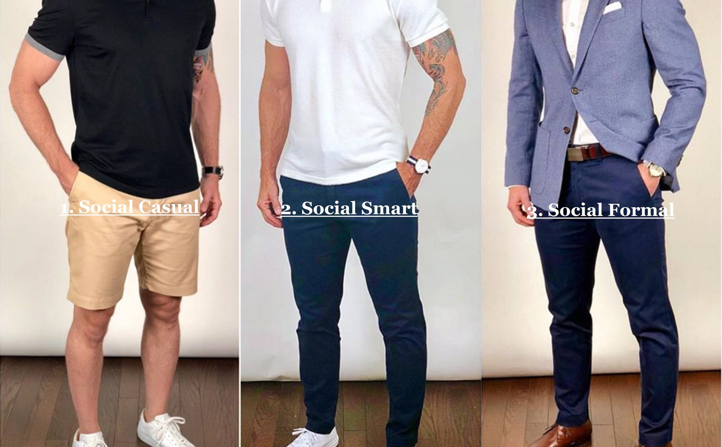 Casual Men's Dress Attire For Singapore