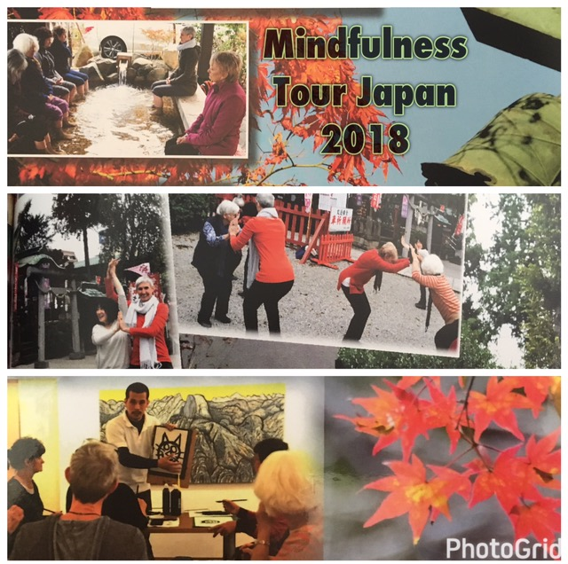 Scenes from the 2016 Japan Mindfulness Tour