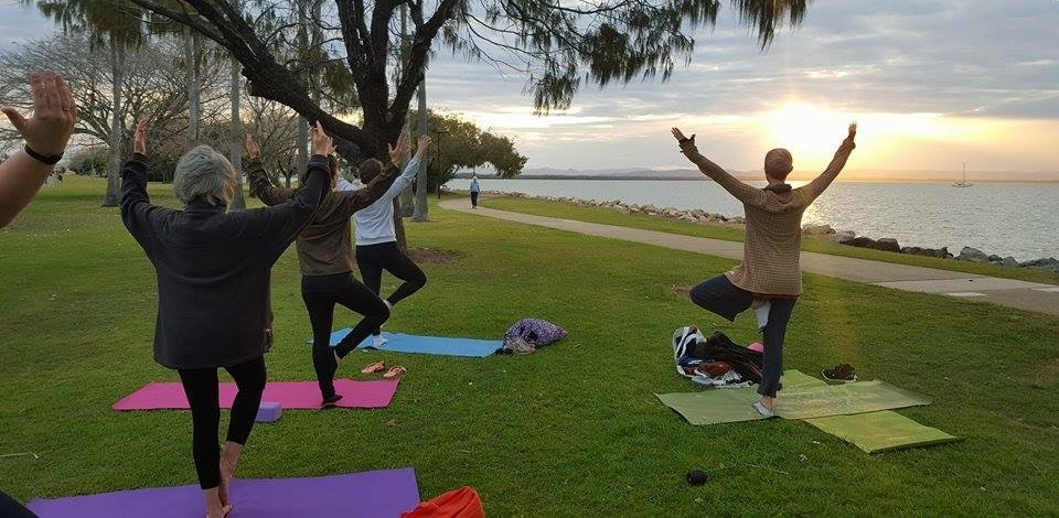 Sunset Yoga winter 2015