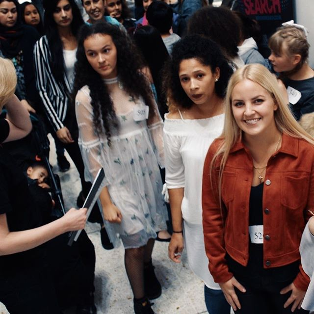 Waiting to go onto the catwalk at our Modelsearch heats on Saturday at @kirkgate_centre Bradford.