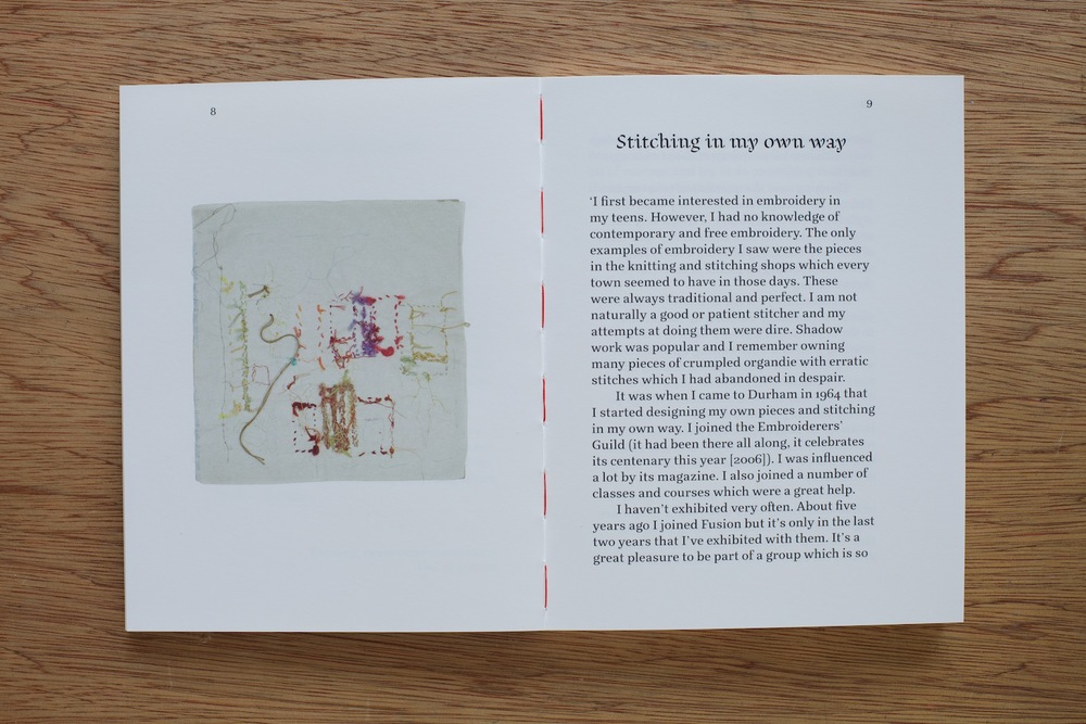 Iris Todd - Embroidery book, book design and artwork photography by Spyros Zevelakis and Sarah Roesink of ideologio