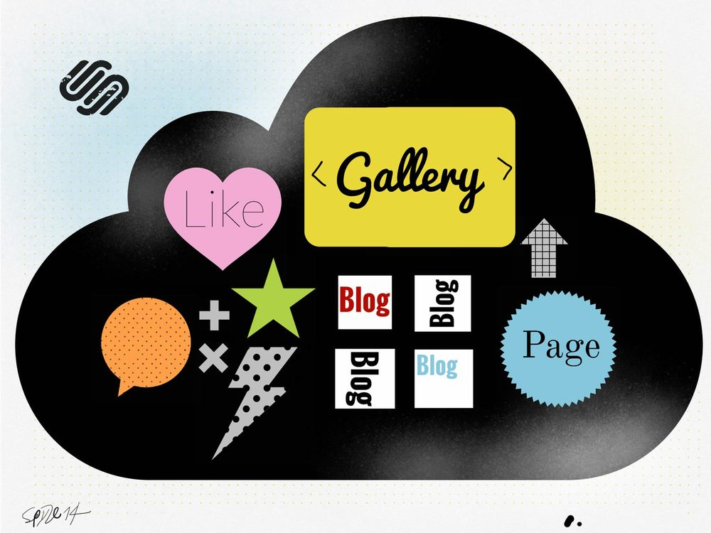 Squarespace is modular and provides all tools to make a very beautiful contemporary site.