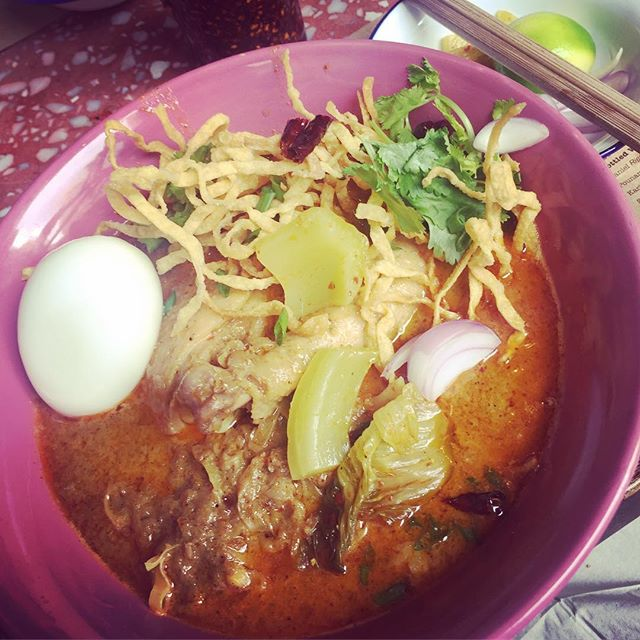 Khao Soi at Samsen! - - - #noodles #noodlesoup #happyplace