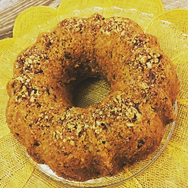 "Chocolate-pecan cake with maple syrup. For tomorrow's morning tea at the office. My workmates are my taste testers as I tweak recipes. The basis of this cake is a recipe for maple-pistachio cake in ""Gluten Free Vegan Baking""  cookbook. I replaced the pistachio with pecan and chocolate and coconut milk instead of soy milk; tweaked the quantity of sugar... drizzled maple syrup as soon as the cake came out of the oven. I won't know what the texture is like until we partake of it tomorrow (didn't have time to bake a test batch 😬)... - - - #stillbaking #glutenfreebaking #veganfriendly #pecans #maplesyrup #testingandtweakingrecipes #Ozlife #backtotheverybeginning #dairyfree #eggfree #treatyourself #glutenfreebaker #tastytreats #formorningtea"