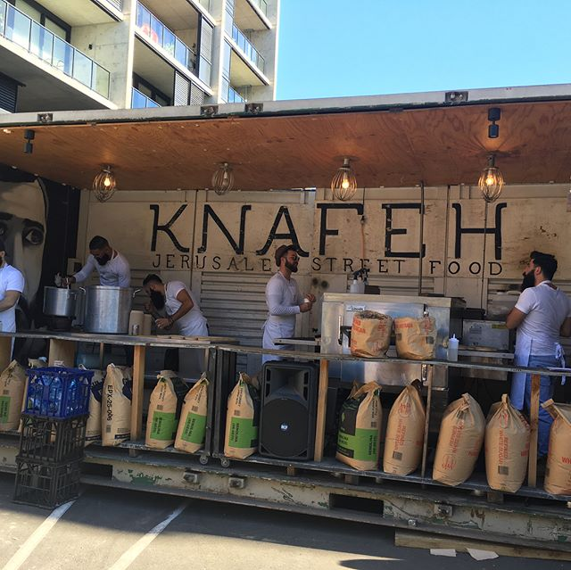 The Knafeh show... - - - #GrainsFestival #Sundayfunday #innerwestsydney #intheneighbourhood